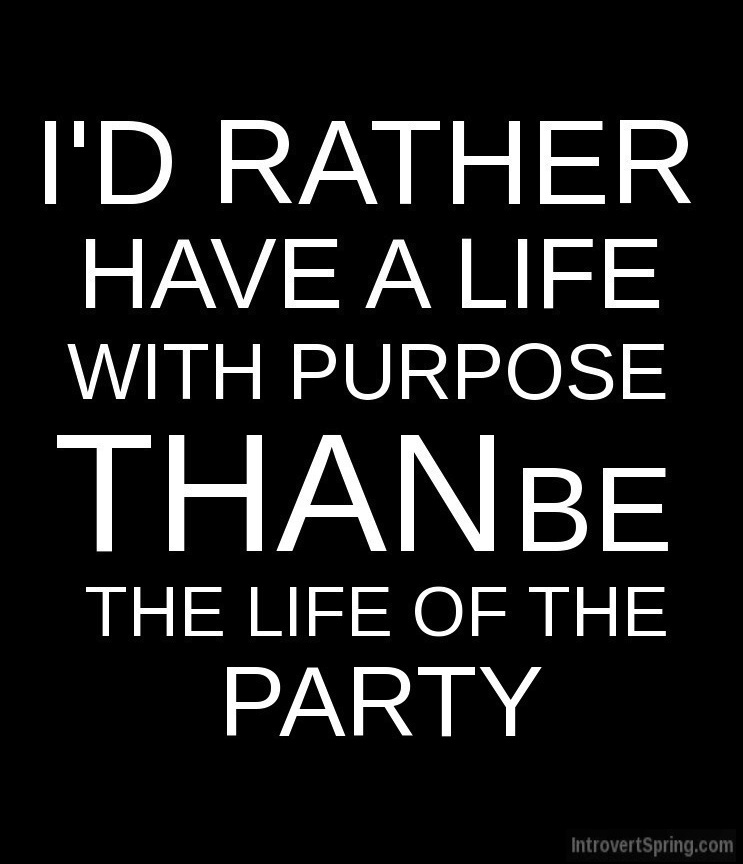 RATHER HAVE LIFE WITH PURPOSE