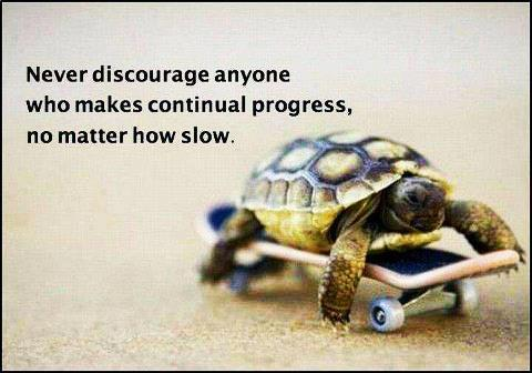 Never-discourage-anyone