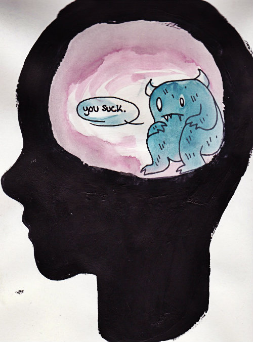 you suck troll inside head introvert