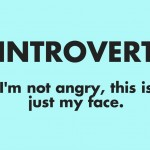 Introvert: I'm Not Angry, This Is Just My Face