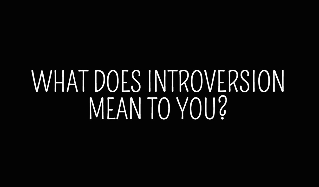 Image result for what does it mean to be an introvert