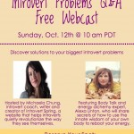 Introvert Problems Q & A Webcast