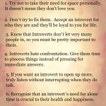How To Love An Introvert