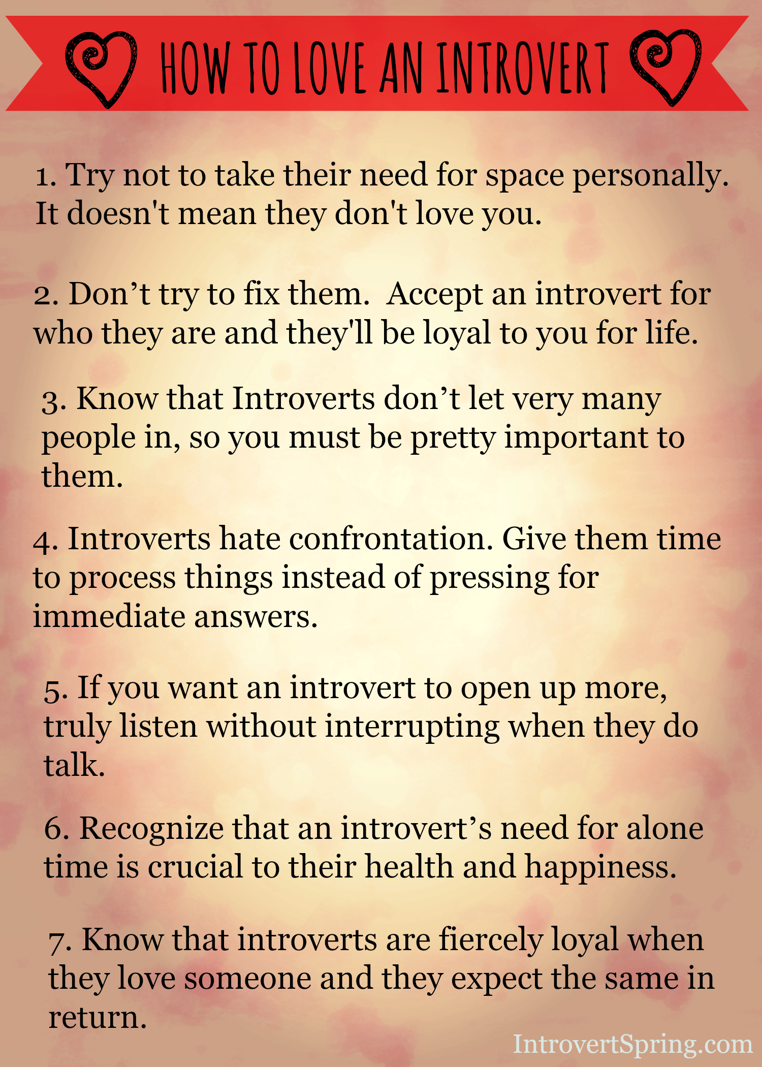 7 reasons love introvert