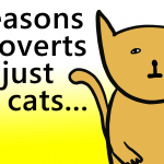 New Introvert Video – Introverts: 5 Reasons We're Just Like Cats