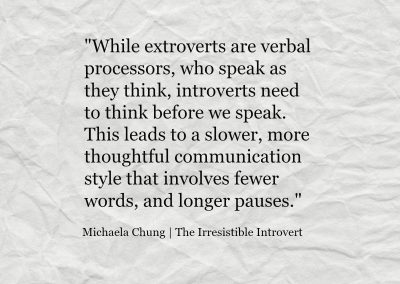 Irresistible Introvert Quote 10