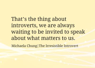 Irresistible Introvert Quote 12