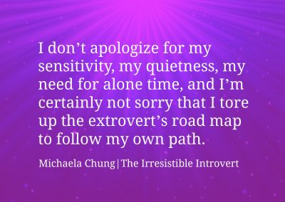 Irresistible Introvert Quote 13