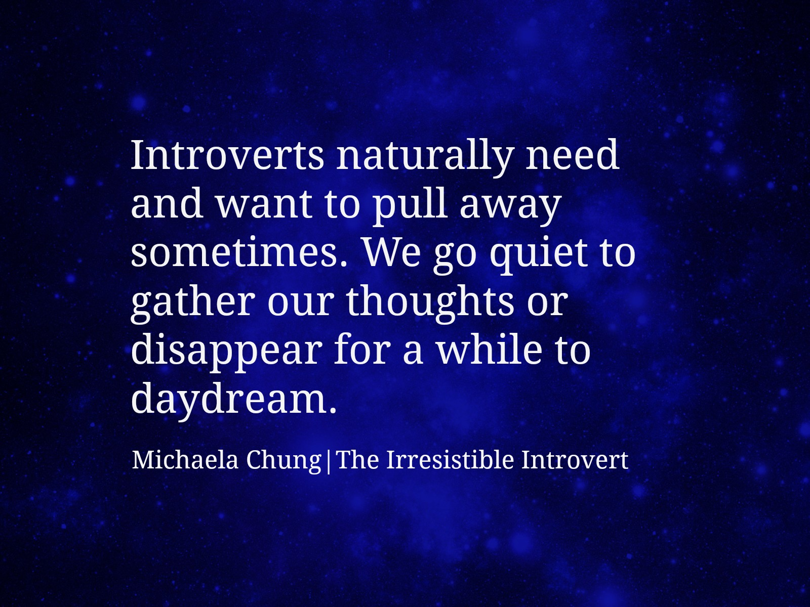 Irresistible Introvert