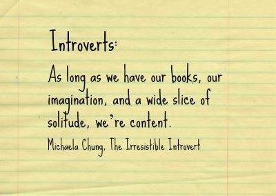 Irresistible Introvert Quote 19