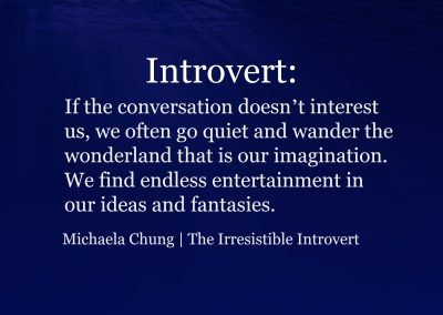 Irresistible Introvert Quote 9