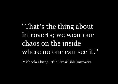 Irresistible Introvert Quote One