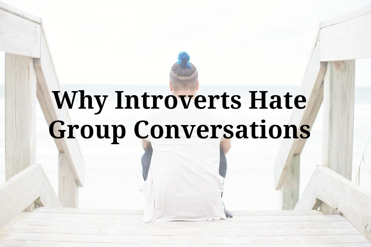 introvert group conversations