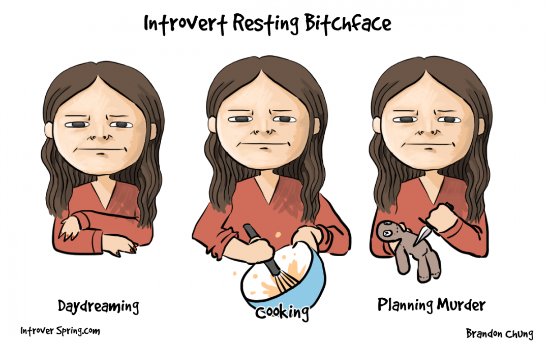 The Introvert Resting B*tch Face